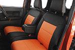 ブラック + オレンジ  / ウェイク LA-700S
